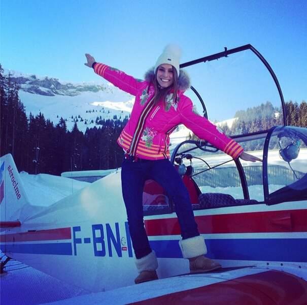 """On continue avec la fin des aventures de """"Laury Thilleman au ski"""""""