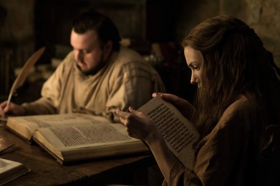 À la Citadelle, Samwell Tarly étudie pour devenir Mestre