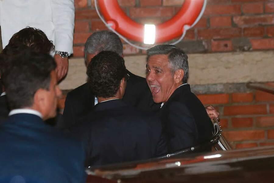 On vient d'en raconter une bien bonne à George Clooney. LOL.
