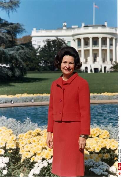 Lady Bird Johnson a été la première First Lady (1963/1969) à s'intéresser de près à l'écologie