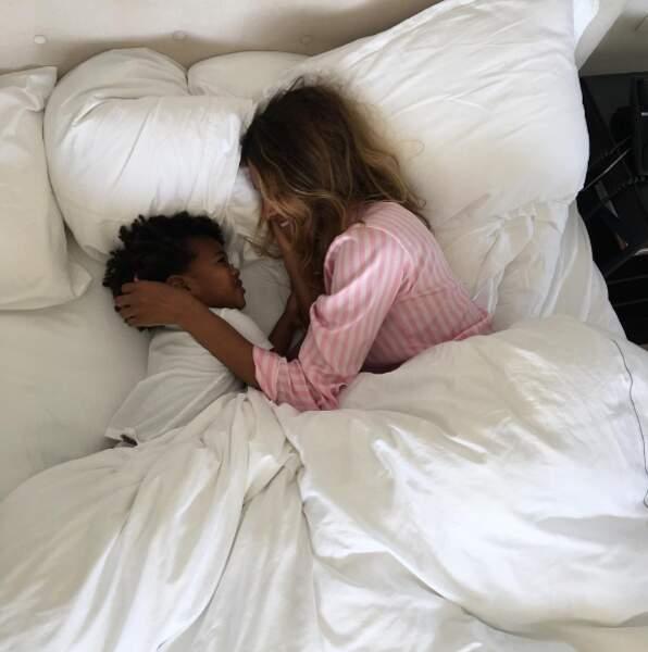 Ode à la sieste chez la chanteuse Ciara.