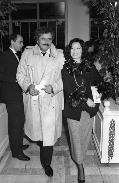 Toujours avec Marie-Jose Nat, en 1984, au Théâtre Marigny à Paris