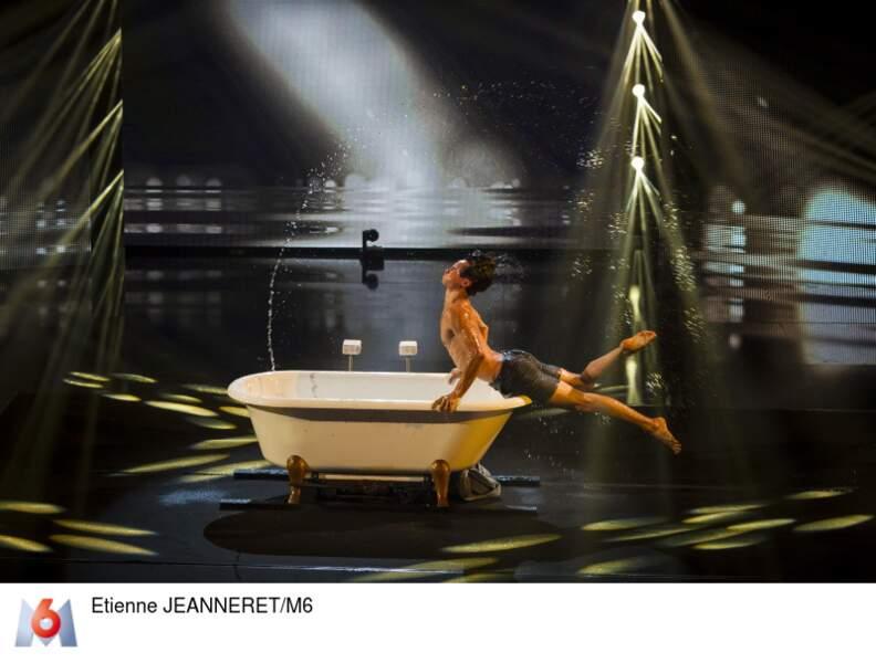 Mario Espanol, danseur et acrobate, charmera-t-il à nouveau les juges ?