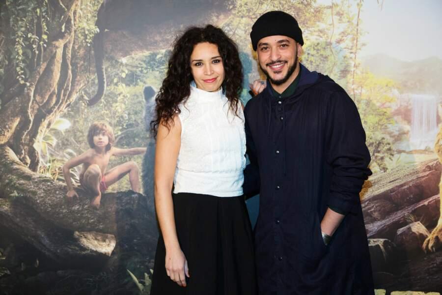 Aida Touihiri et Slimane collés-serrés