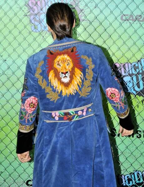 Non vraiment, même avec un lion à l'arrière, c'est pas top...
