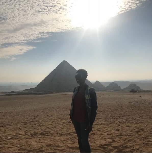 Mi-décembre, Rokhaya Diallo avait mis le cap sur l'Egypte