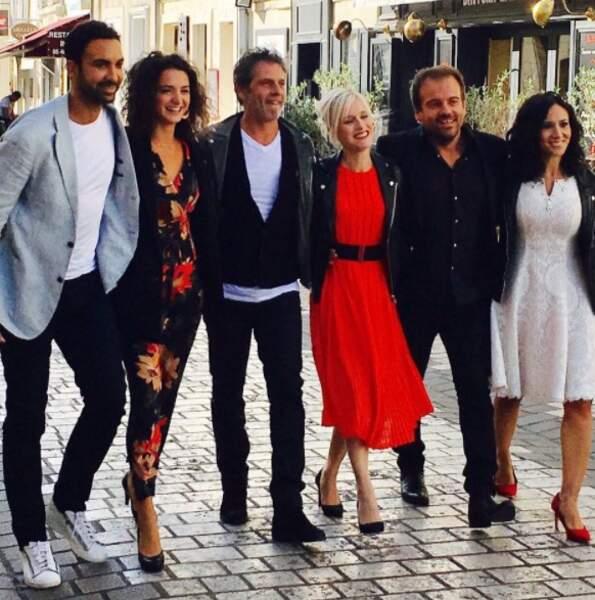 Dans les rues de La Rochelle, les stars de Plus belle la vie ont été très sollicités par les fans