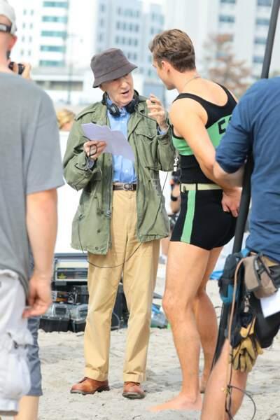 Il n'a pas du tout envie de décevoir Woody Allen !
