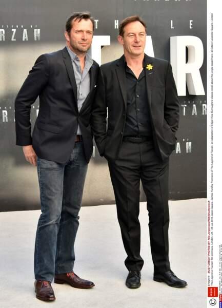 Jason Isaacs (Lucius Malefoy dans Harry Potter) et James Purefoy (série Rome) étaient là eux aussi