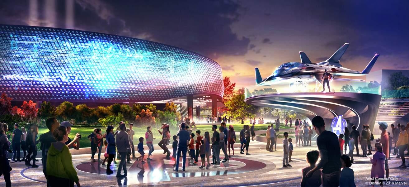 L'Avenger Campus comprendra deux nouvelles attractions