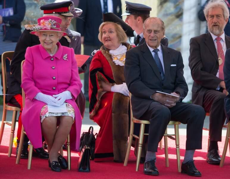 Une cérémonie des plus sympathiques, surtout si Philip est là !