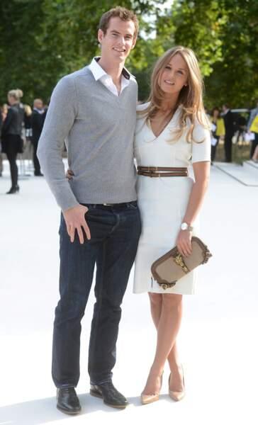 Place à un autre tennisman que ces messieurs envient : Andy Murray et la sublime Kim Sears