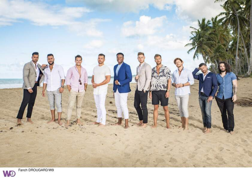 Et voici les célibataires hommes de L'Ile de la tentation 2019