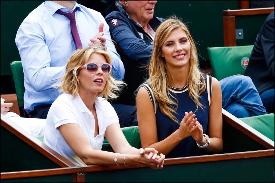 Notre Miss France a respecté le dress code tennistique