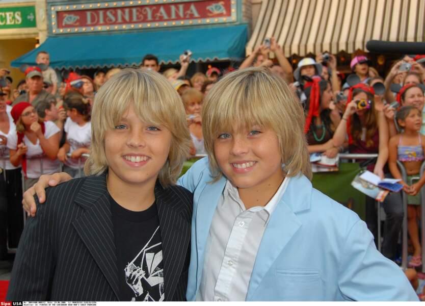 Et eux vous les reconnaissez ? Les jumeaux Dylan et Cole Sprouse révélés dans La vie de palace de Zack et Cody