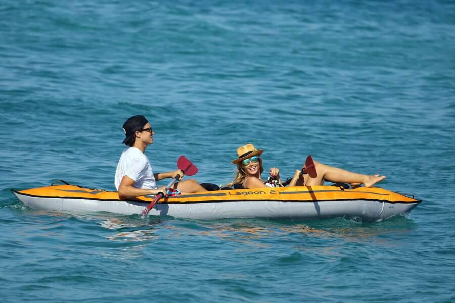 Saint-Tropez aussi pour Heidi Klum et son mec.