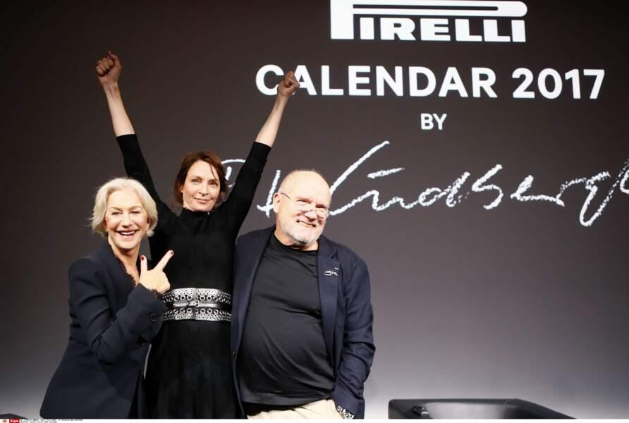 Elle est contente Uma Thurman de figurer dans le calendrier 2017 de Pirelli ? Oui, elle l'est !