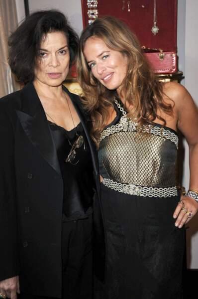 Il s'agit de la fille de Bianca Jagger, épouse du rockeur dans les années 70.