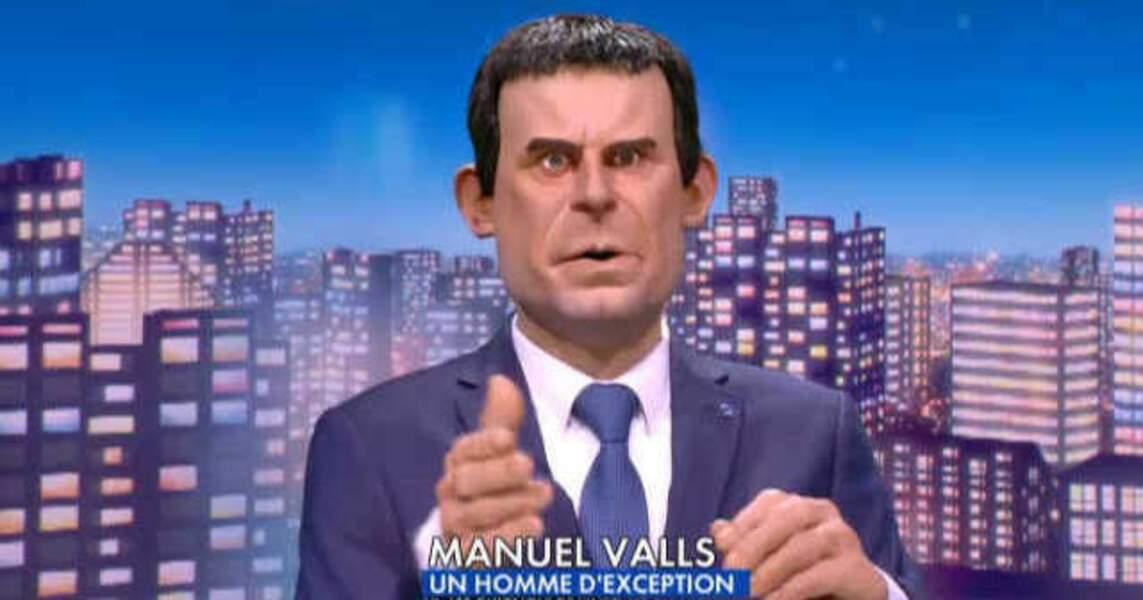 """""""Donnez-moi, le chômage il est malade"""" : quand Manuel Valls attaque les Roms, les Guignols contre-attaquent."""