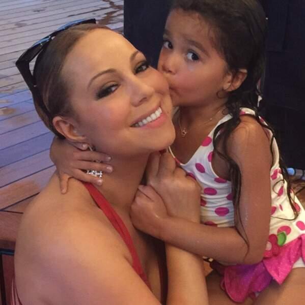 Et Maman Gâteau pour Mariah Carey avec la petite Monroe Cannon !