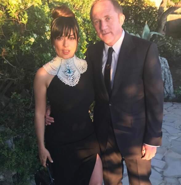 Salma Hayek et monsieur, François-Henri Pinault, font route vers une soirée de gala