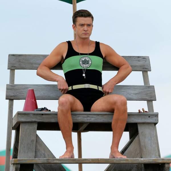 Justin Timberlake, dans un maillot de bain du plus bel effet !