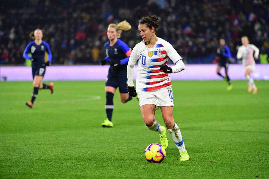 4 - Carli Lloyd  (Sky Blue FC, 36 ans) : 345 000 euros