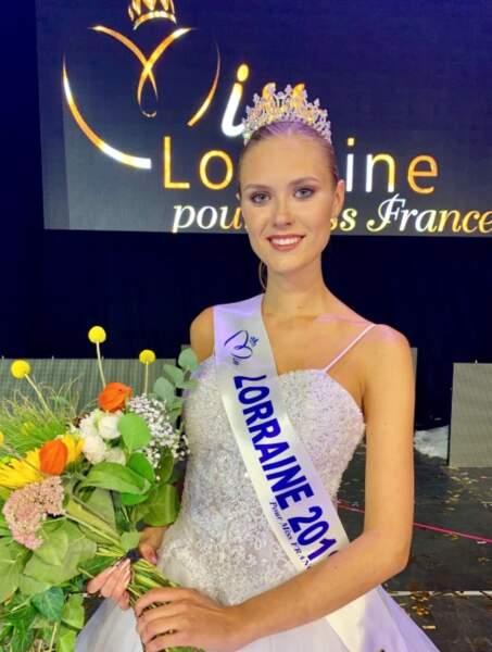 La Lorraine sera représentée par Ilona Robelin