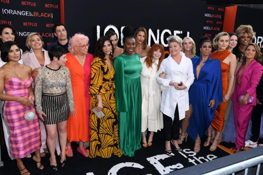 Le casting réuni a fait le show à New York ! De la couleur, de la joie et des tenues magnifiques !