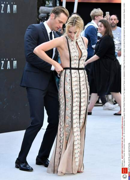 """""""Ne t'inquiète pas ma Margot, je vais te re-zipper tout ça !"""""""