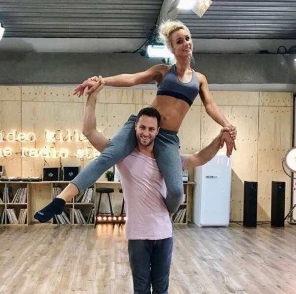 Christian Millette et Elodie Gossuin sont prêts pour intégrer un cirque après Danse avec les Stars.
