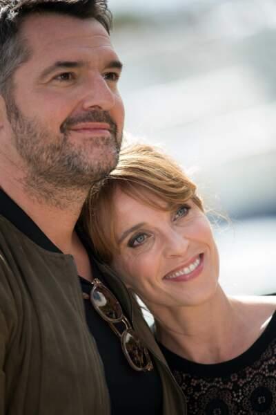 Arnaud Ducret et Alix Poisson aussi ont pu constater, encore une fois, la grande popularité de leur série