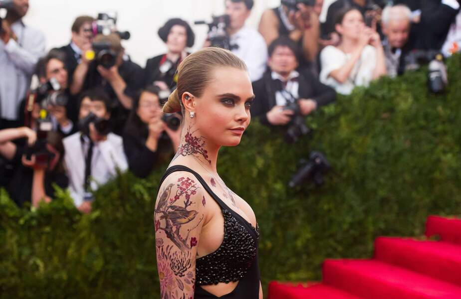 Woaow, les tatouages de Cara Delevingne !