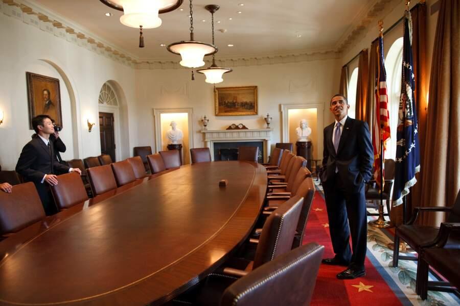 """""""Et donc, là, monsieur le Président, c'est le bureau ovale"""""""