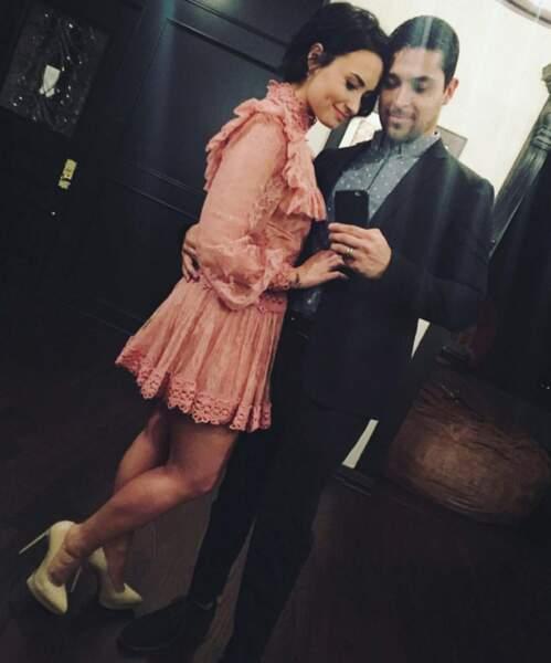 Demi Lovato et son amoureux se sont mis sur leur 31 pour la Saint Valentin.