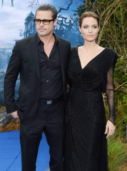 Les acteurs Brad Pitt et Angelina Jolie, mariés depuis 2014.