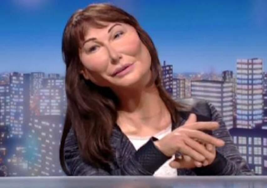 ... Et son atout charme, Carla Bruni-Sarkozy !