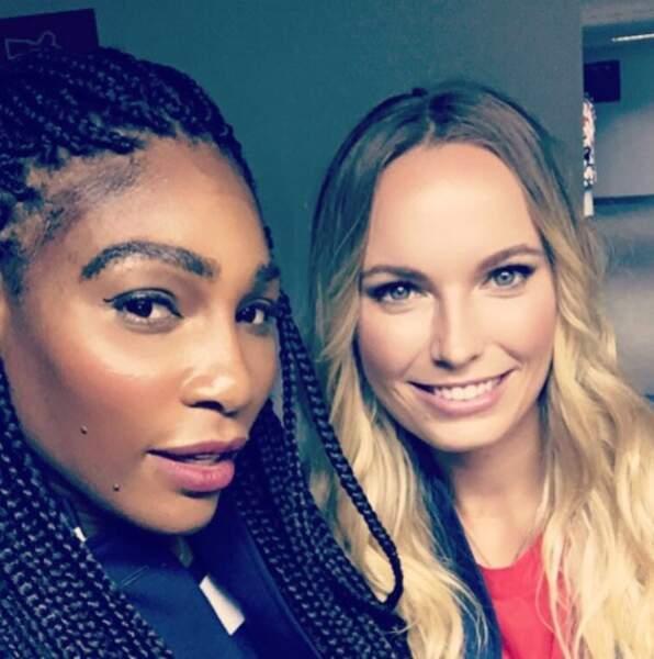 ... Mais sa meilleure amie reste Serena Williams