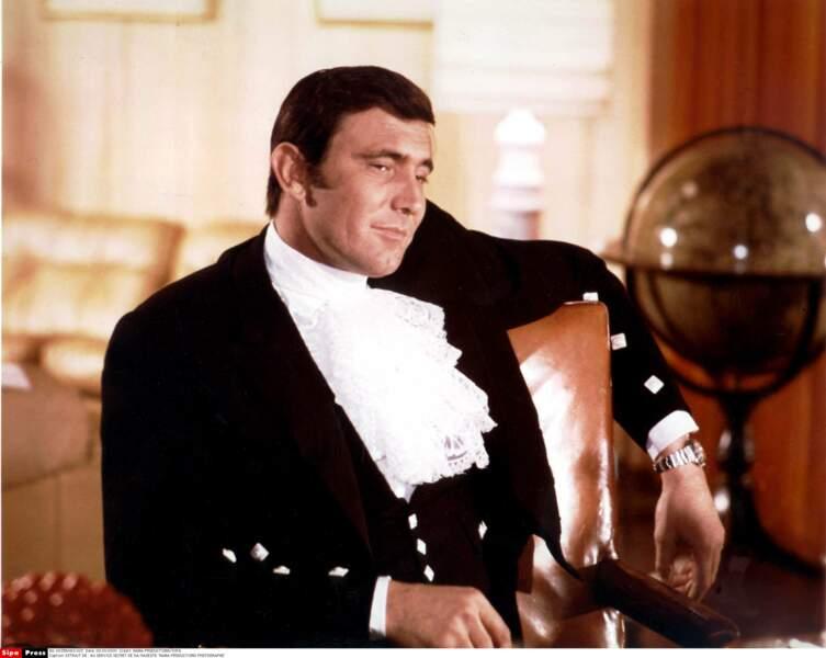 George Lazenby n'a joué que dans un opus, Au service secret de Sa Majesté. Une grosse erreur de casting…