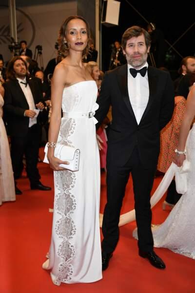 Sonia Rolland et son amoureux Jalil Lespert ont aussi foulé le tapis rouge du Festival de Cannes