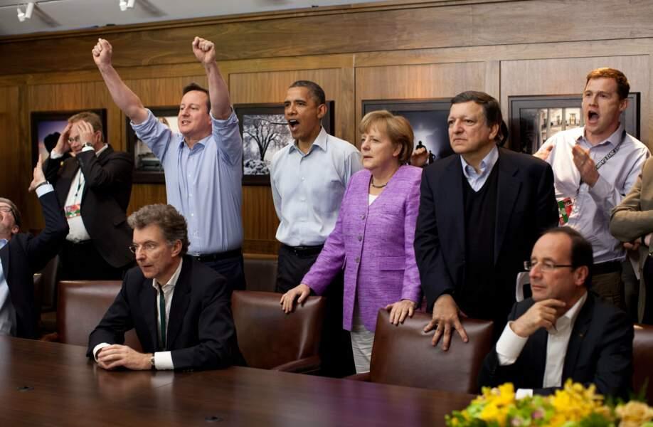 Chelsea ou le Bayern ? Barack Obama a suivi la finale de Ligue des Champions en 2012