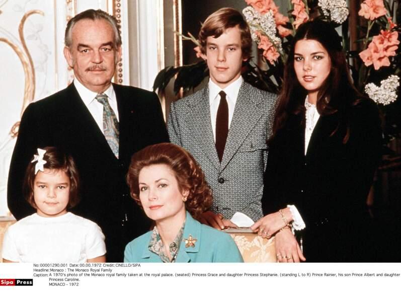L'autre grand amour de sa vie est son père chéri, le prince Rainier