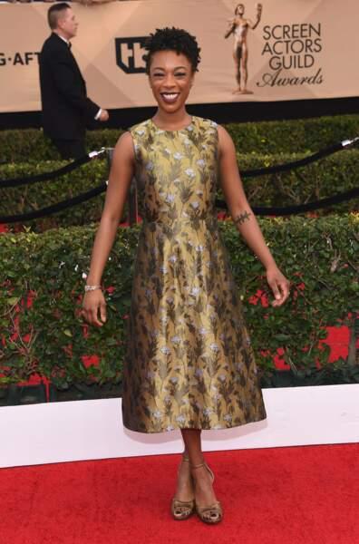 Samira Wiley était tout sourire sur le tapis rouge !