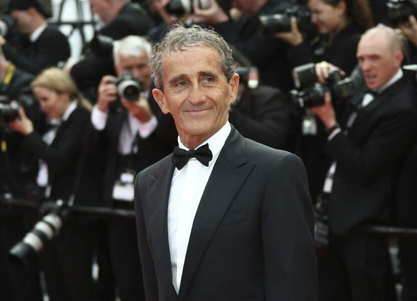 Alain Prost est également venu découvrir le nouveau Tarantino