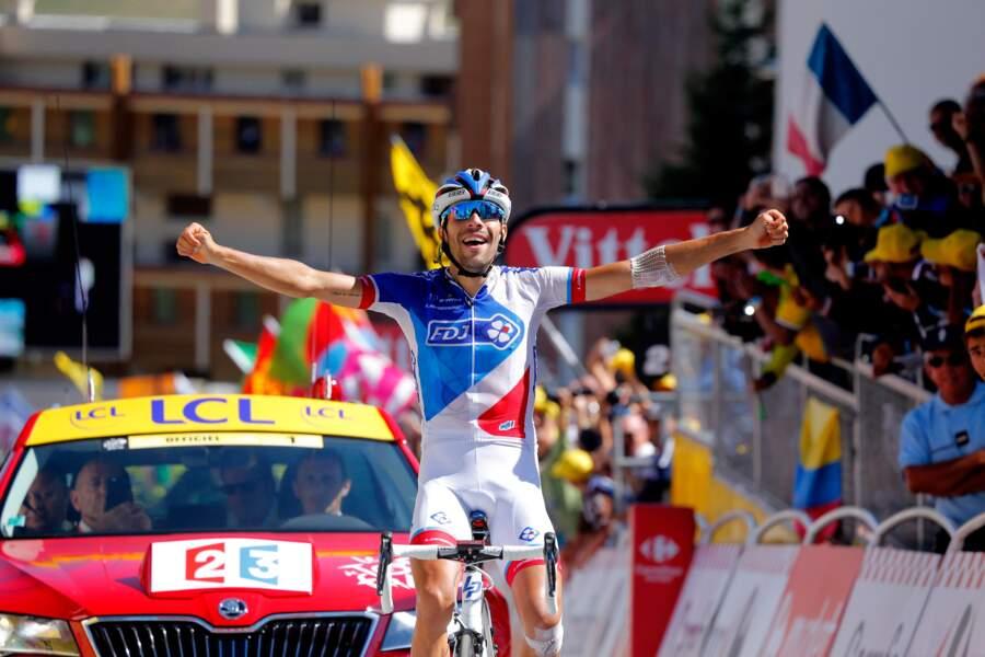 ... Qui ne nous fera pas oublier la SUBLIME victoire de Thibaut Pinot à l'Alpe d'Huez