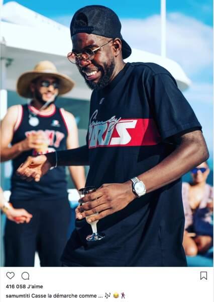 Samuel Umtiti s'éclate à Miami
