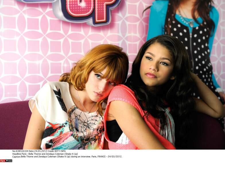 Zendaya a été révélée en 2010 dans Shake It Up, une série Disney Channel