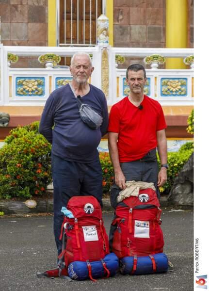 Maurice (80 ans) et Thierry (54 ans) : le père et son fils