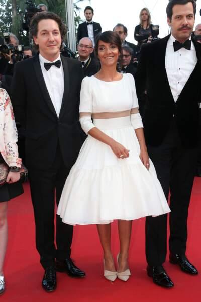 Guillaume Gallienne, Florence Foresti et Laurent Lafitte lors de la montée des marches pour Le Petit Prince