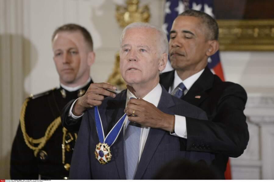 ... Dont son plus proche collaborateur, le vice-président Joe Biden